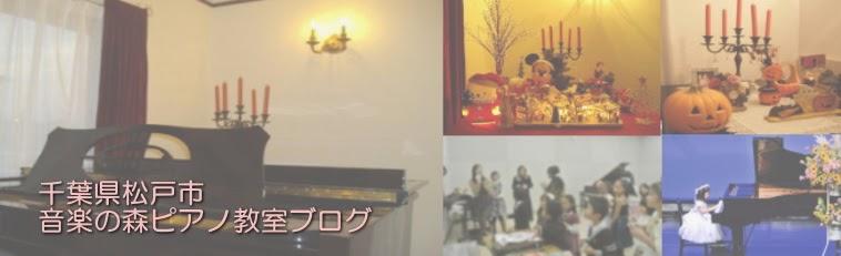 松戸市馬橋と流山市のピアノ教室【音楽の森】